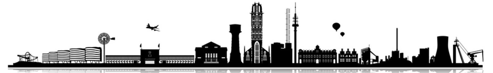 Duisburg skyline
