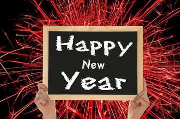 Sign - Happy New Year