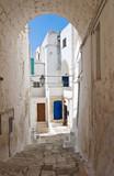 Fototapety Alleyway. Ostuni. Puglia. Italy.