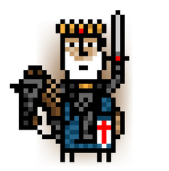 pixel king mounted