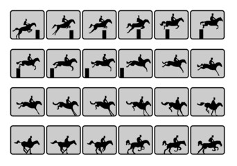 runing horse sequence