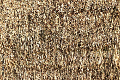 Foto op Plexiglas Indonesië Thatched palm leaf roof
