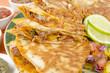 Mexican Spicy Chicken Tinga Quesadillas