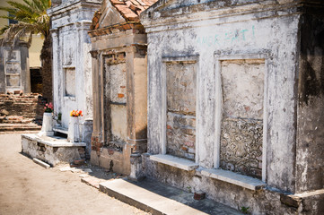 Saint Louis Cemetery No. 1 in New Orleans, Louisiana