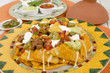 Nachos - Cheesy Tortilla Chips with Toppings & Dips