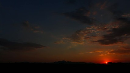 tramonto timelapse
