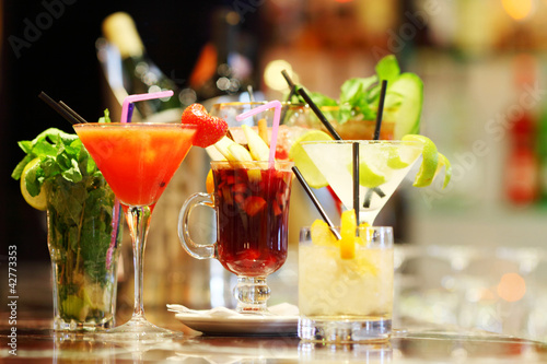Colorful cocktails - 42773353