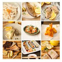 Ryba Pstrag Losos Ryby sushi flądra owoce morza karp sola