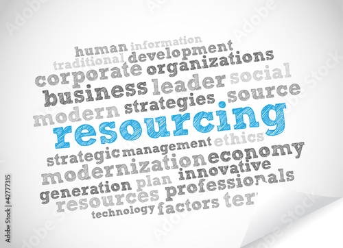 Word Cloud Resourcing