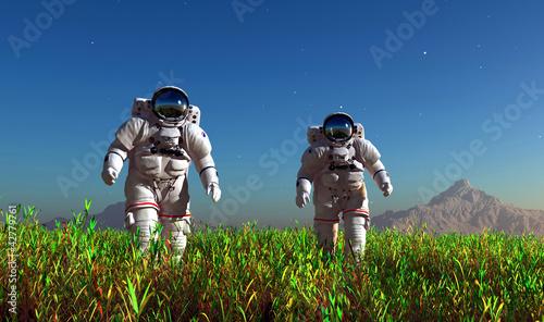 Two astronauts - 42779761