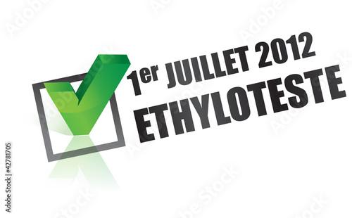 ethylotest en france - juillet 2012