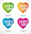 Coup de coeur (4 couleurs)