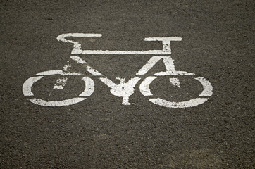 bycycle sign symbol