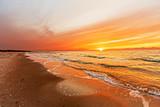 Fototapety Sonnenuntergang auf Hiddensee