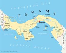 Kaart Panama (Panama Landkarte)