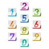 Fototapety Numbers set