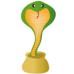 巳 蛇 コブラ 2013 年賀状