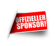 Offizieller Sponsor! Button, Icon