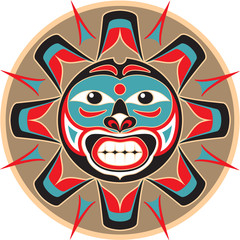 Sun - Native American Style