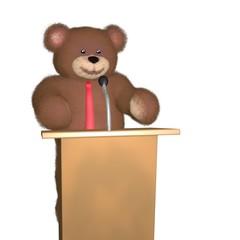 Teddy bear speaker