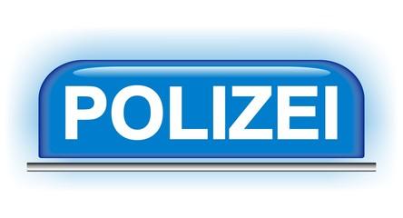 Polizei - Schild