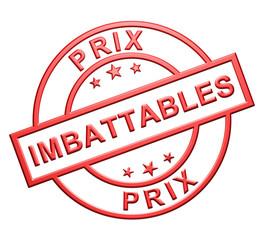 "Label ""Prix Imbattables"""