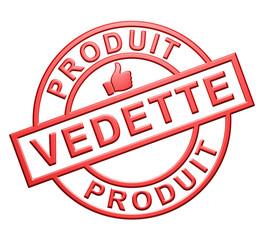 """Label """"Produit Vedette"""""""