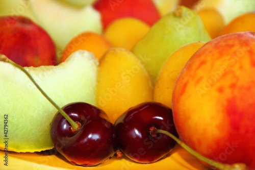 Kiraz ve  meyve