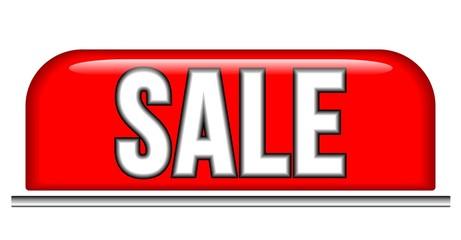 Sale Ausverkauf - Schild