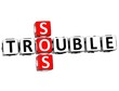 3D Trouble SOS Crossword