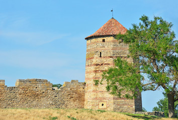 Ancient Akkerman fortress at Belgorod-Dnestrovsky, Ukraine