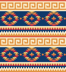 Seamless tribal pattern