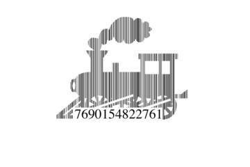 Código barras tren