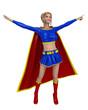 super girl in super dance
