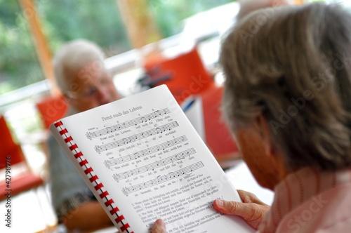 Leben im Seniorenheim
