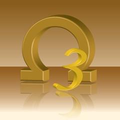 Omega 3 product banner 3d