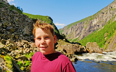 Boy in the Norway.