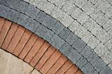 pattern on the pavement - 42801943