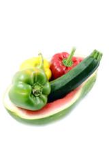 Gemüse in Wassermelone