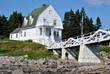 Постер, плакат: Keepers House at Marshall Point Lighthouse Maine