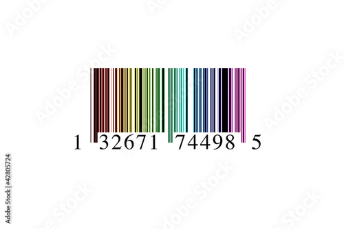 Código de barras colores