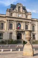 La mairie de Montpellier (Hôtel de ville)