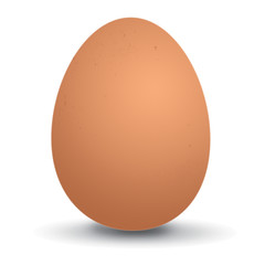 Icon of a red egg