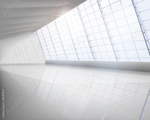 Große Halle. Vektor-Illustration.