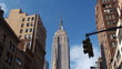 Empire State Building, View from Fifth Avenue.