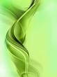 Gentle green fractal background
