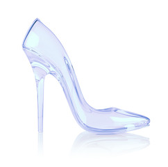 crystal high heel