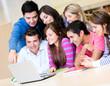 Students online