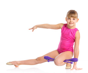 Little gymnast