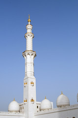 Grand mosque in Abu Dhabi,United Arab Emirates